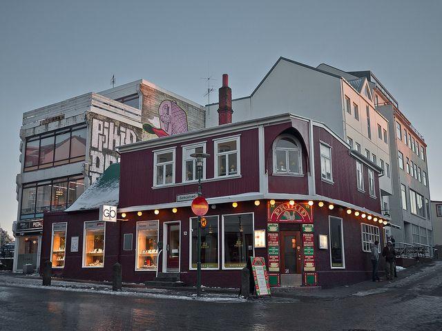 Паб в Исландии