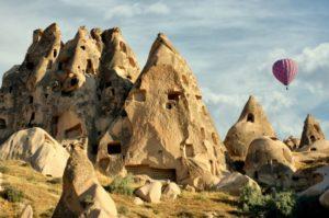 гори, повітряні кулі, Туреччина
