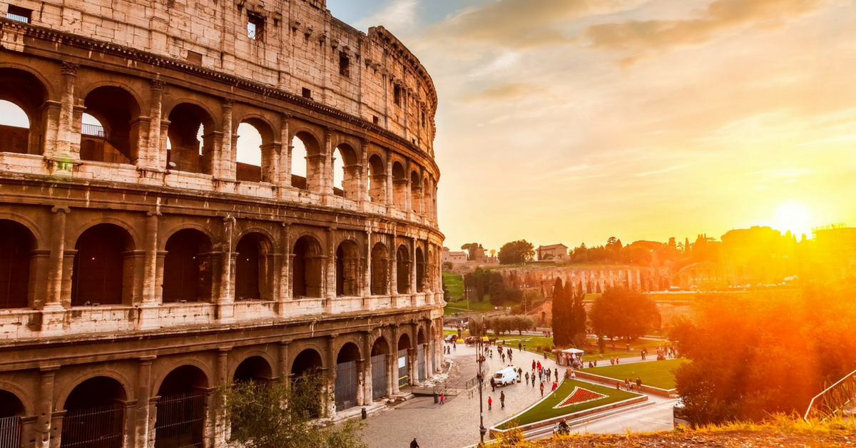 Римский колизей.